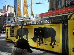 On the road again… TRAM-mELB-300x225